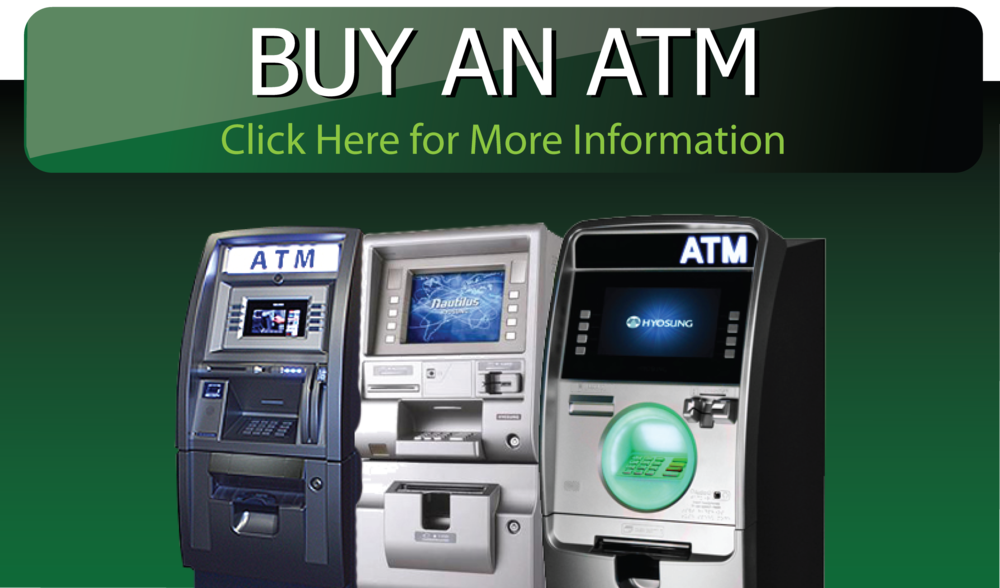 If you're looking for ATM Machines and want below retail pricing or you just need ATM Processing with direct, straightforward pricing, you're at the right place. Your ATM Machine will be connected directly with our full service ATM processing provider giving your ATM Machine full access to all the ATM Networks, including EBT. This proven system of processing, creates the highest percentage of approved transactions in the industry.