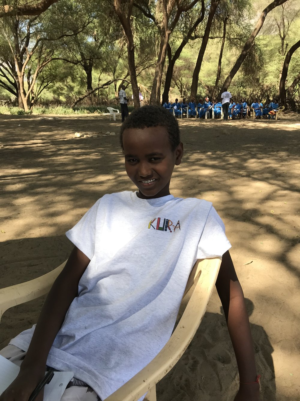 Ayub - Ayub attends the Meru School in Meru, Kenya. He lives with his mother, two brothers and three sisters. Drought greatly affected his family's finances, but he did not lose hope.