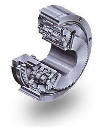 Plano-centric drive assembly.