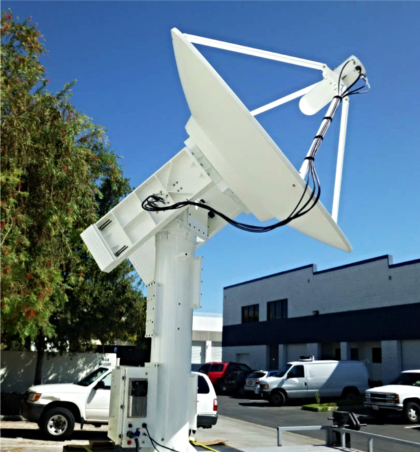 PD500 Fixed L&S Band Telemetry Tracking System with 8 foot Reflector payload.