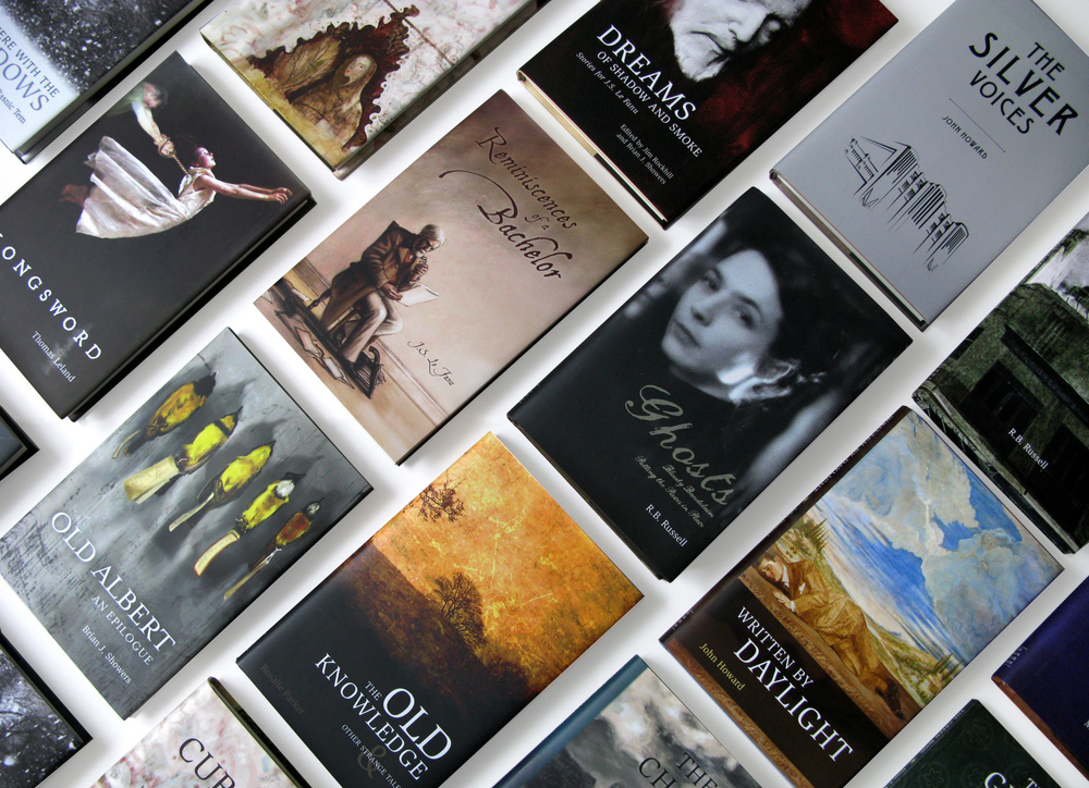 The Swan River Press book covers
