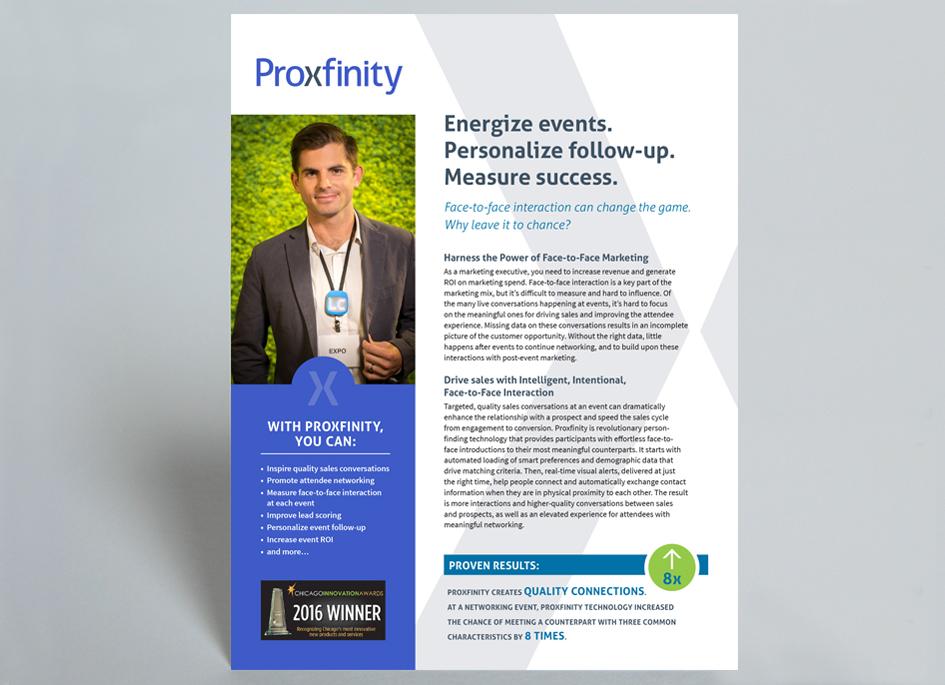 Proxfinity Sell Sheet