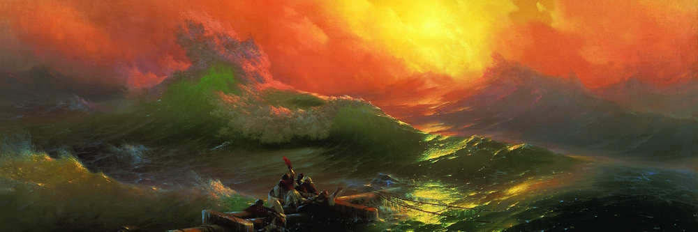"Ivan Aivazovsky's ""The Ninth Wave"""