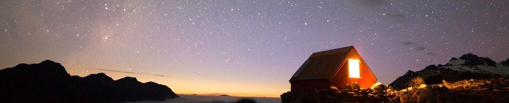 The stars alight
