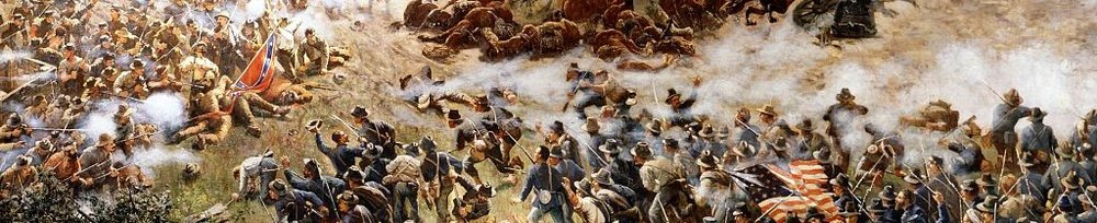 "From ""The Battle of Atlanta,"" a cyclorama painting"