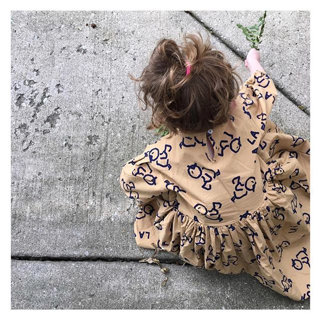Such a sweet print!! #kidandkind launches tomorrow Tuesday 🙌🏻🙌🏻 still waiting on time to be announced. #sailorjanes #shopsmall