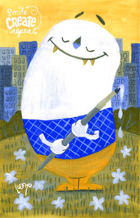 gouache-painting-smile-create-repeat-tony-luongo