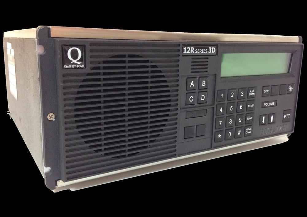 QuEST Rail 12R Series 3D Radio
