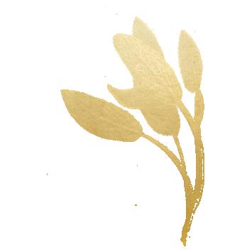 Gold Sage Leaf