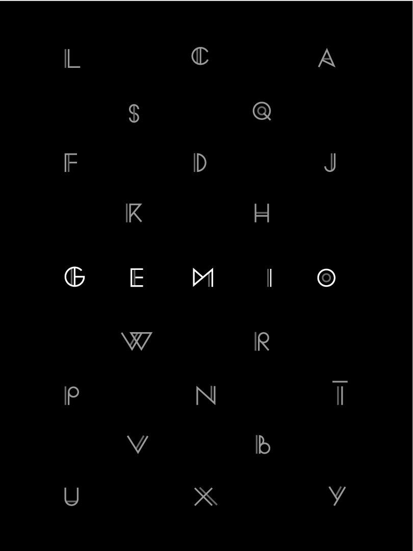 Gemio Alphabet