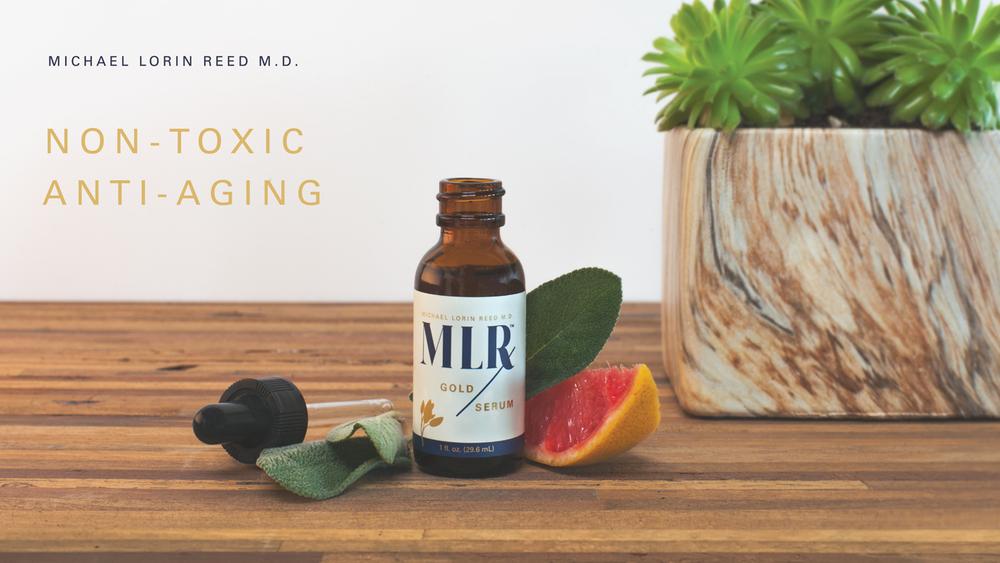 Non-Toxi Anti-Aging Gold Serum