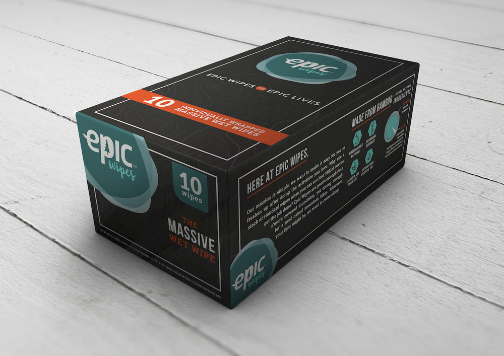 Epic Wipes Retail Box