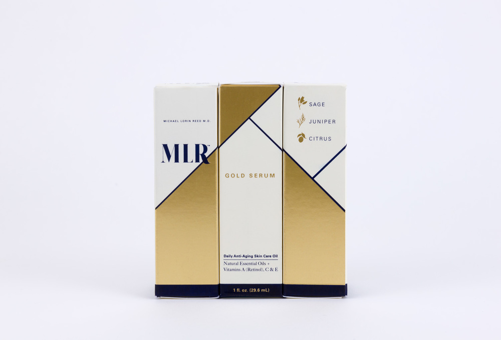 MLR Gold Serum Shelf Presence