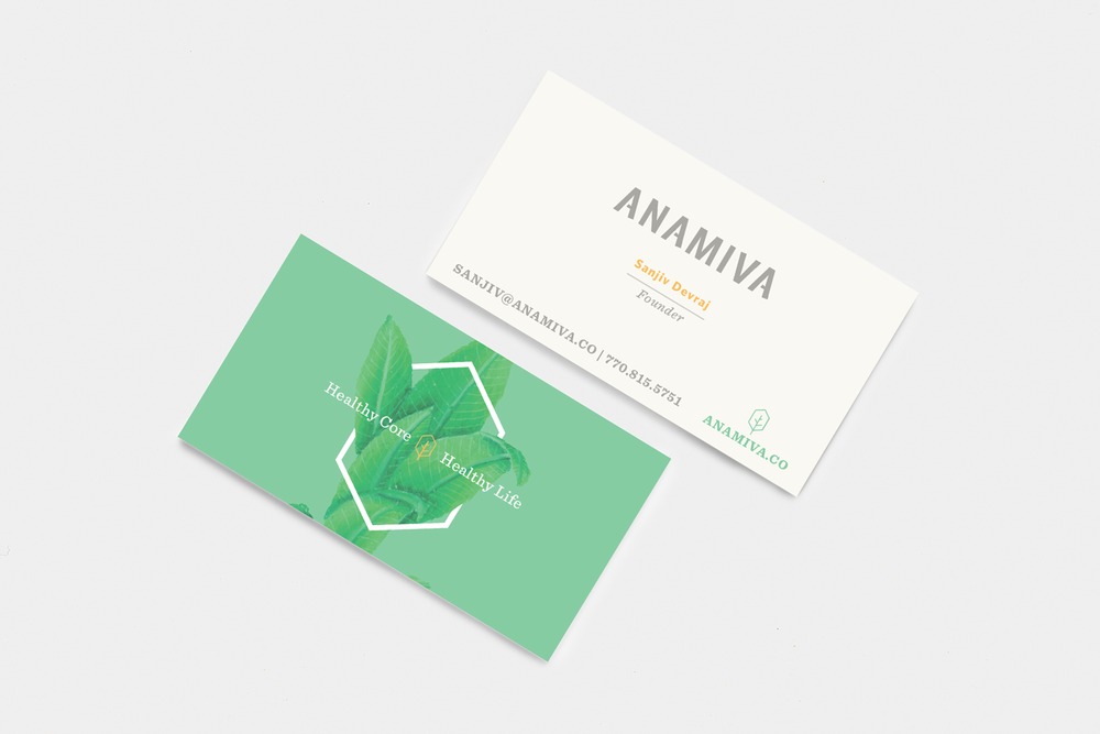 Anamiva Business Cards