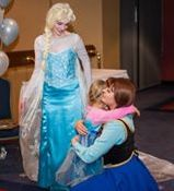 Anna and Elsa - Children's Wish Tea 2015 copy.jpg