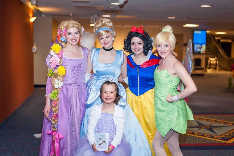 Children's Wish Tea - Posing with honorary wish princess 2015.jpg