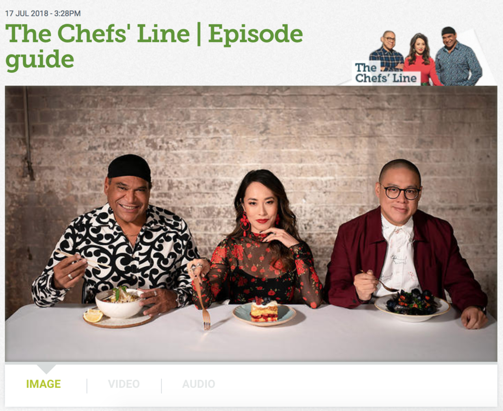 Melissa Leong Fooderati The Chefs' Line Season 2
