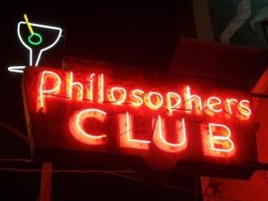 """Quand on met les """"lunettes"""" de la philosophie, tout devient philosophique!         C'est cet état d'esprit que je propose à mes étudiants d'acquérir."""