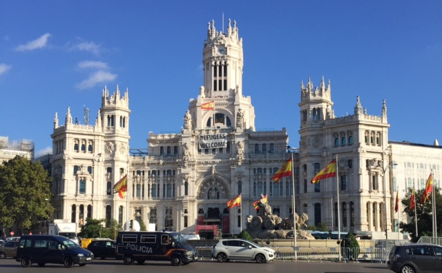 Palacio de Cibeles, Madrid, October 2017