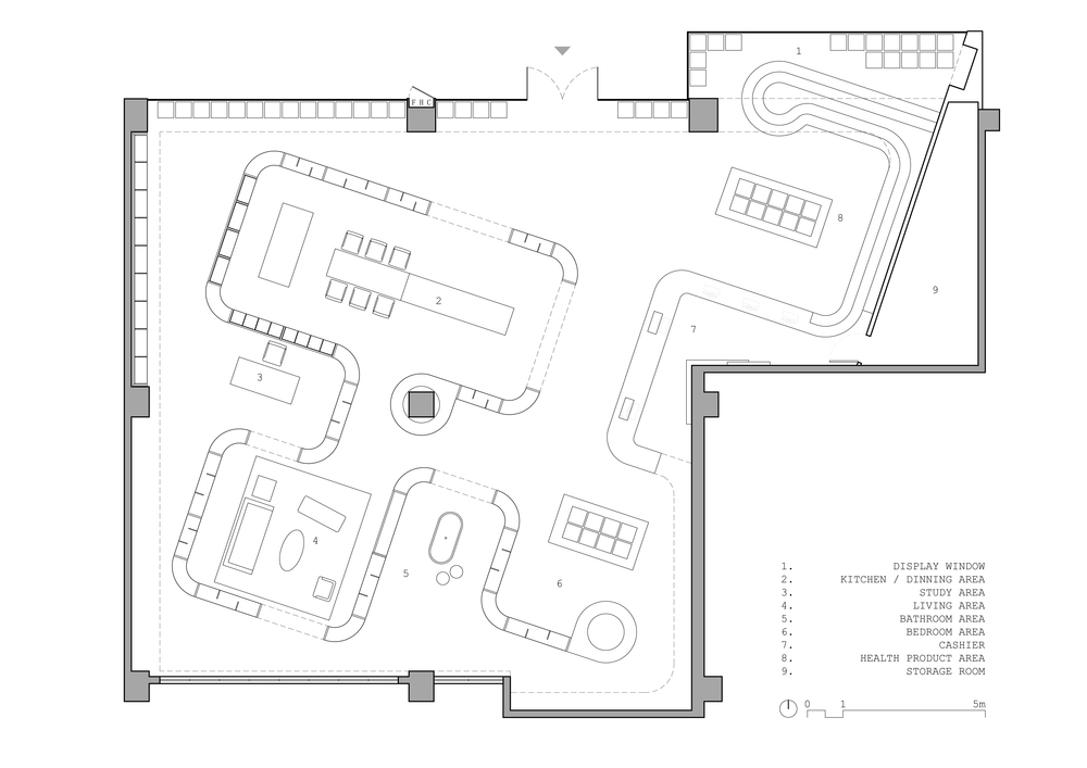 Floor plan for current location.