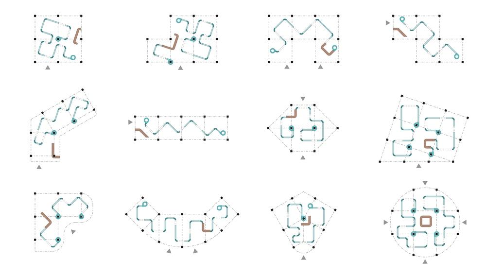Spatial variation diagram.