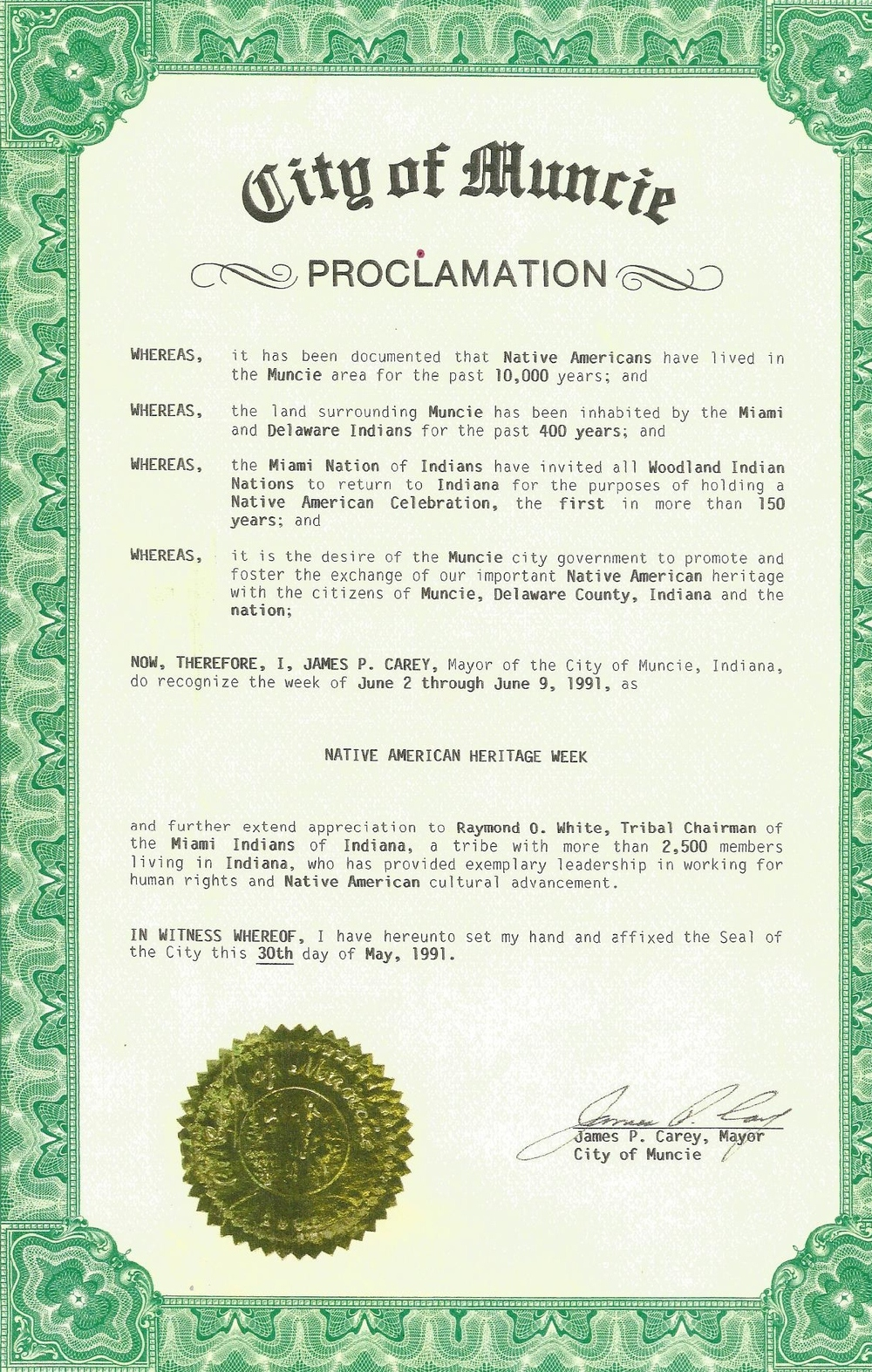 Proclamation city of Muncie.jpg