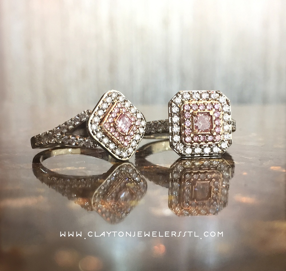 GIA CERTIFIED NATURAL PINK DIAMONDS