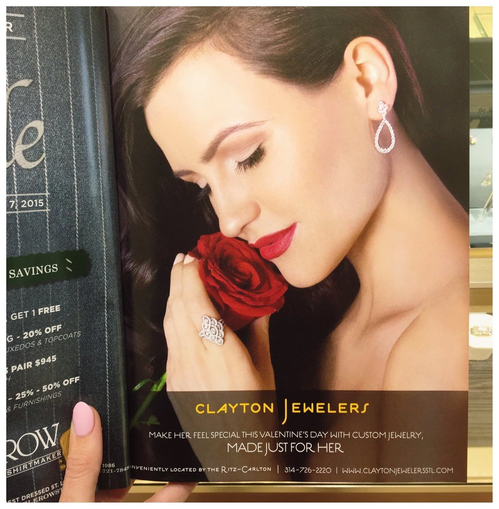 February 1st, 2015: We are loving our featured Valentine's Day ad in Sophisticated Living Magazine! Grab your copy today!
