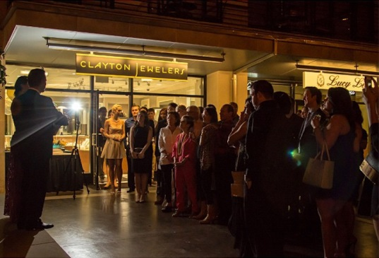 September 19th, 2014: Clayton Jewelers had an incredible turn out at our grand opening party! We had over 100 guests attend, and we can't thank you all enough for your support!