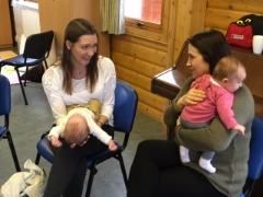 New Mums comparing notes!