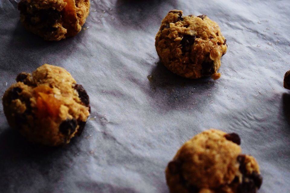 Oat & raisin ANZAC biscuits