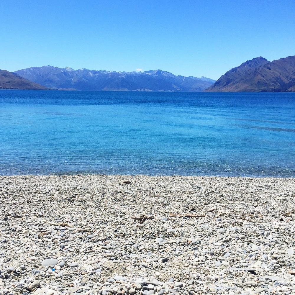 Lake Hawea - Wanaka New Zealand