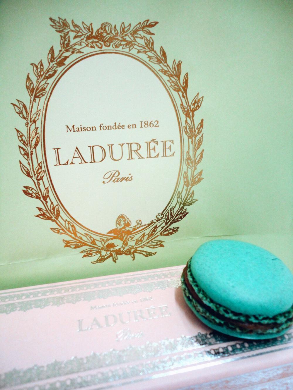 Marie Antionette Macarons from Laduree