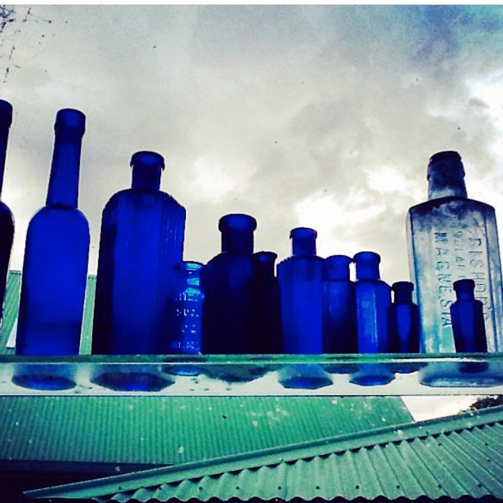Vintage bottles Apothocary