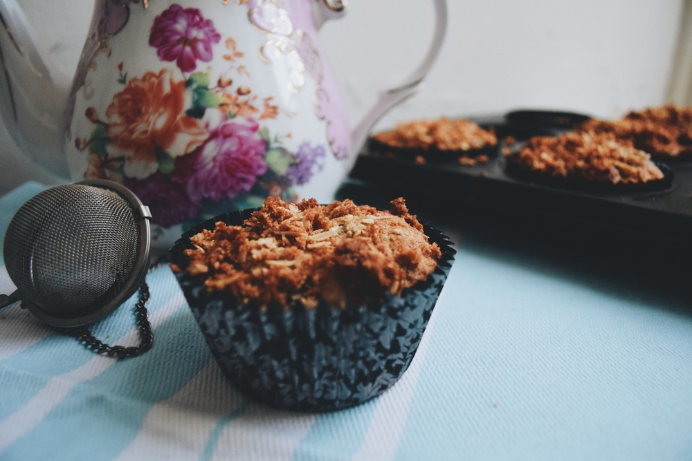 Ruby & Cake Afternoon Tea Muffins