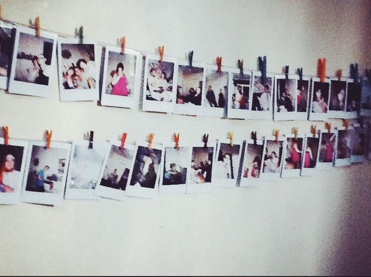 Polaroid Photo Wall