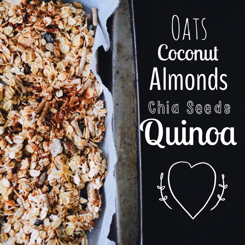 Quinoa Chia toasted granola
