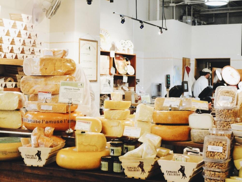 San Francisco Food Artisan Cheese