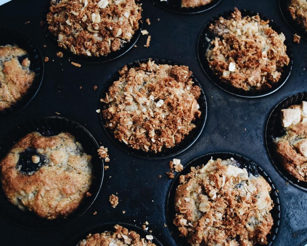 Ruby & Cake Crunchy Munchy Muffins