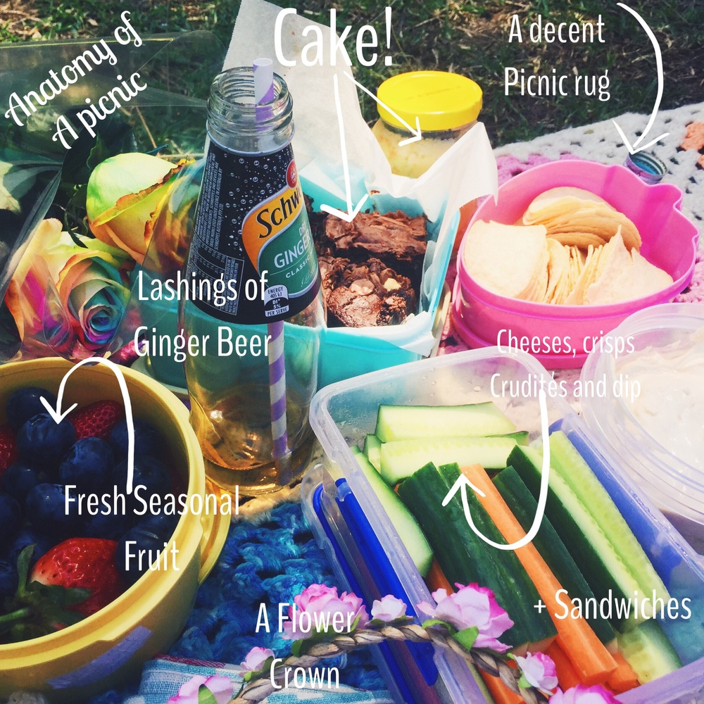 My anatomy of a picnic