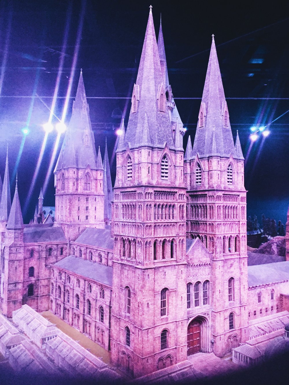 The Making Of Harry Potter: Warner Bros Studio Tour London Hogwarts Model