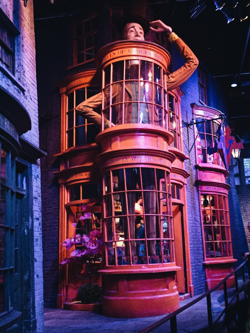 The Making Of Harry Potter: Warner Bros Studio Tour London Diagon Alley Weasley Wheezes