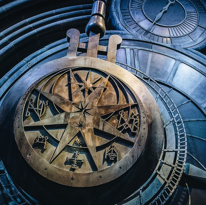 The Making Of Harry Potter: Warner Bros Studio Tour London Clock