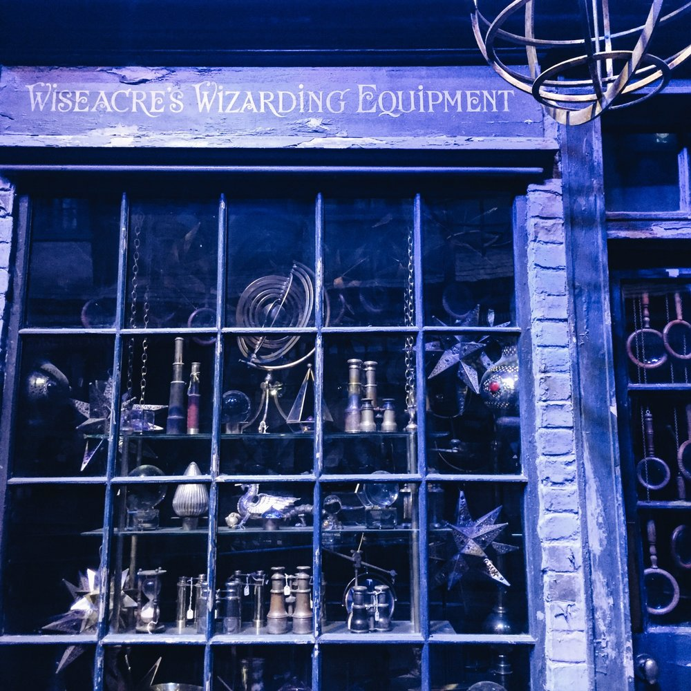 The Making Of Harry Potter: Warner Bros Studio Tour London Diagon Alley