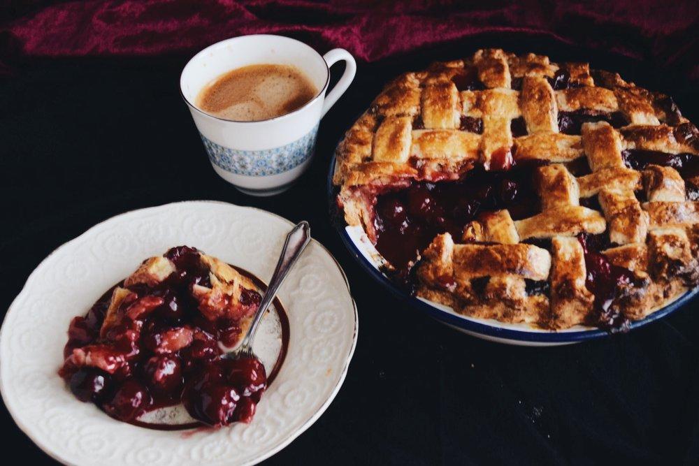 Twin Peaks Cherry Pies