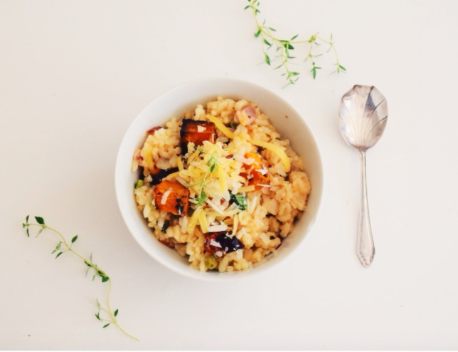 Sweet Potato Risotto