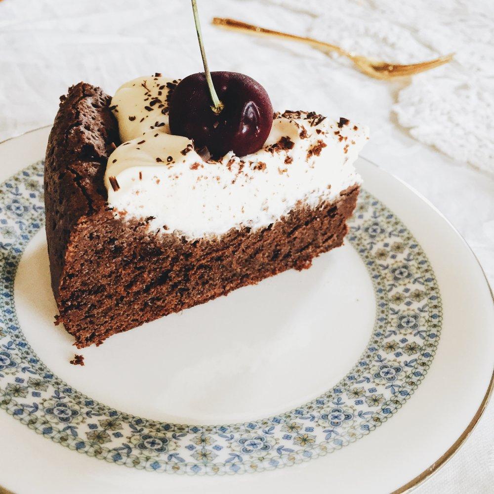 Gluten free chocolate cake christmas