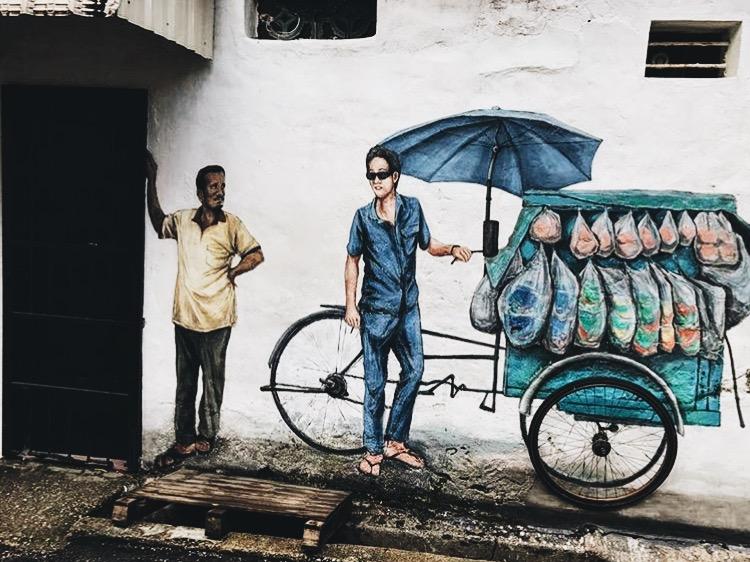 Wander: Street Art Penang Hawkers