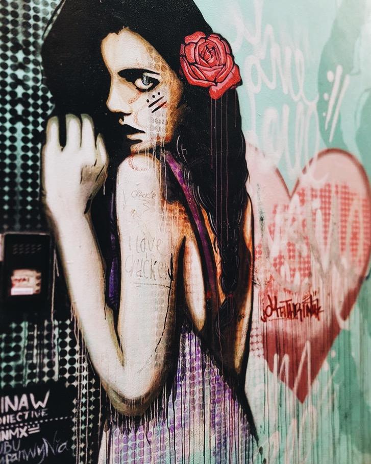 Dublin Street Art Girl