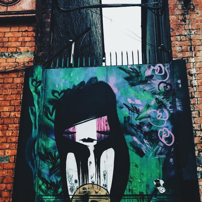 Creepy Street art dublin